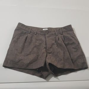 I Love H81 Los Angeles CA Brown Shorts Size 27
